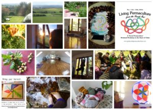 Living Permaculture from the Inside Out - exploring ways of sharing, caring and connecting - in a welcoming space where stillness is revealing and stories bring laughter.