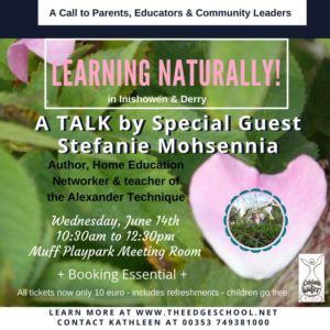 Learning Naturally Talk in DerryInishowen